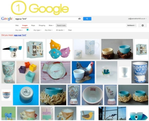1a. Google Screengrab for Stylist's Own Blog