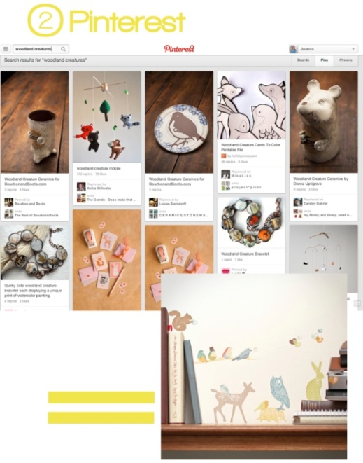2. Pinterest Screengrab for Stylist's Own Blog