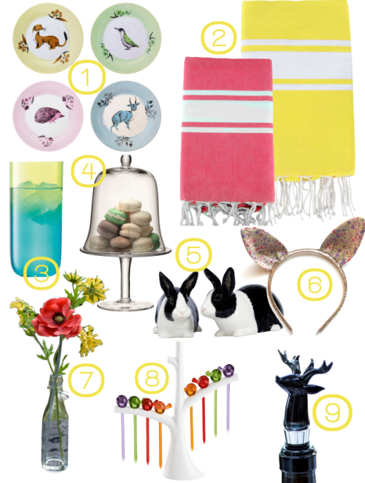 Easter Dining Products Round-up by Joanna Thornhill for Stylist's Own Blog