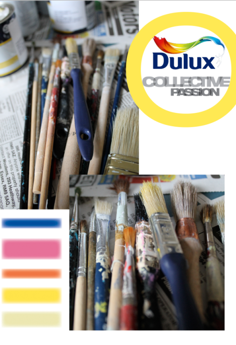 Introductory Header Dulux Collective Passions by Joanna Thornhill for Stylist's Own