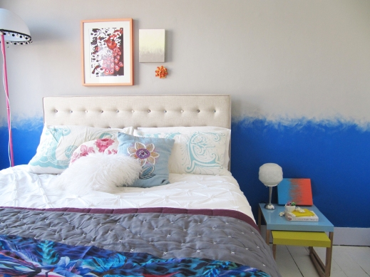 Main Bedroom Paint Effect After Joanna Thornhill Stylist's Own