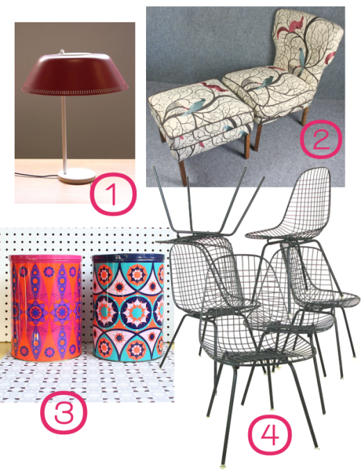 Mid Century Modern Show round-up 1 March 2013 by Joanna Thornhill for Stylist's Own