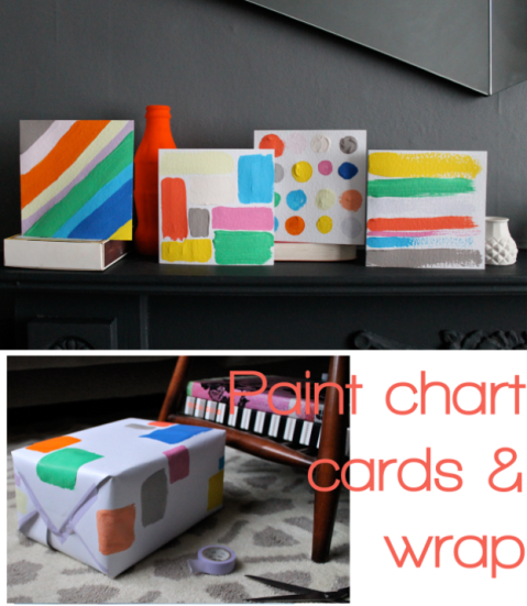 Paint Chart Cards & Giftwrap by Joanna Thornhill for Stylist's Own