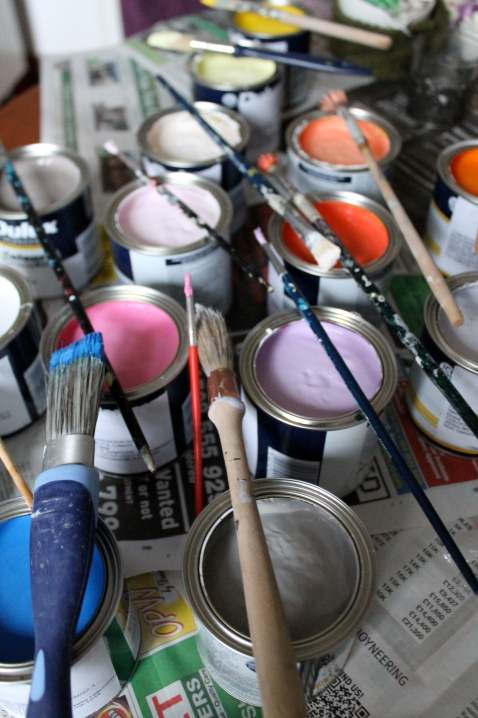 Pots with Brushes The Palette Collective Passions by Joanna Thornhill for Stylist's Own