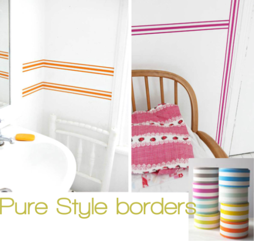 Pure Style borders by Jane Cumberbatch for Stylist's Own blog by Joanna Thornhill