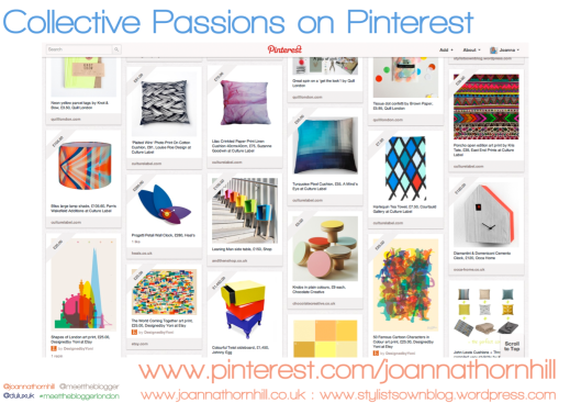 Collective Passions on Pinterest by Joanna Thornhill for Stylist's Own