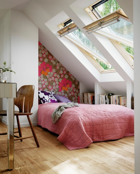 Loft Ideas - Velux Windows, blogged on Stylist's Own by Joanna Thornhill