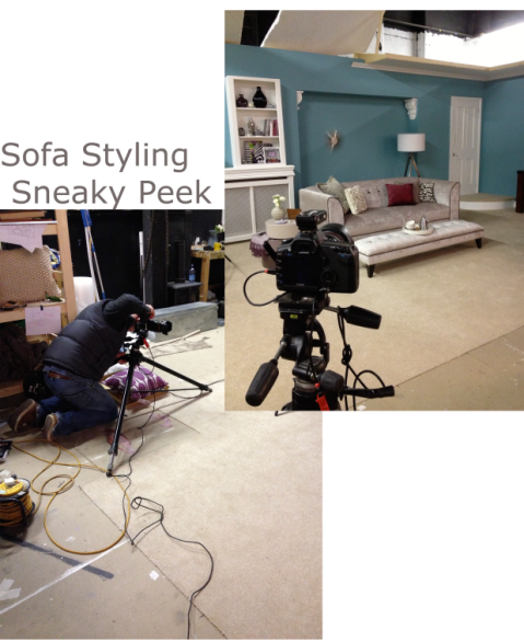 Sofa Styling Sneaky Peek with DFS by Joanna Thornhill for Stylist's Own