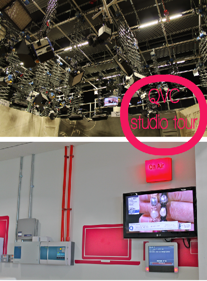 QVC Studio Tour for Stylist's Own Blog by Joanna Thornhill - The Sets