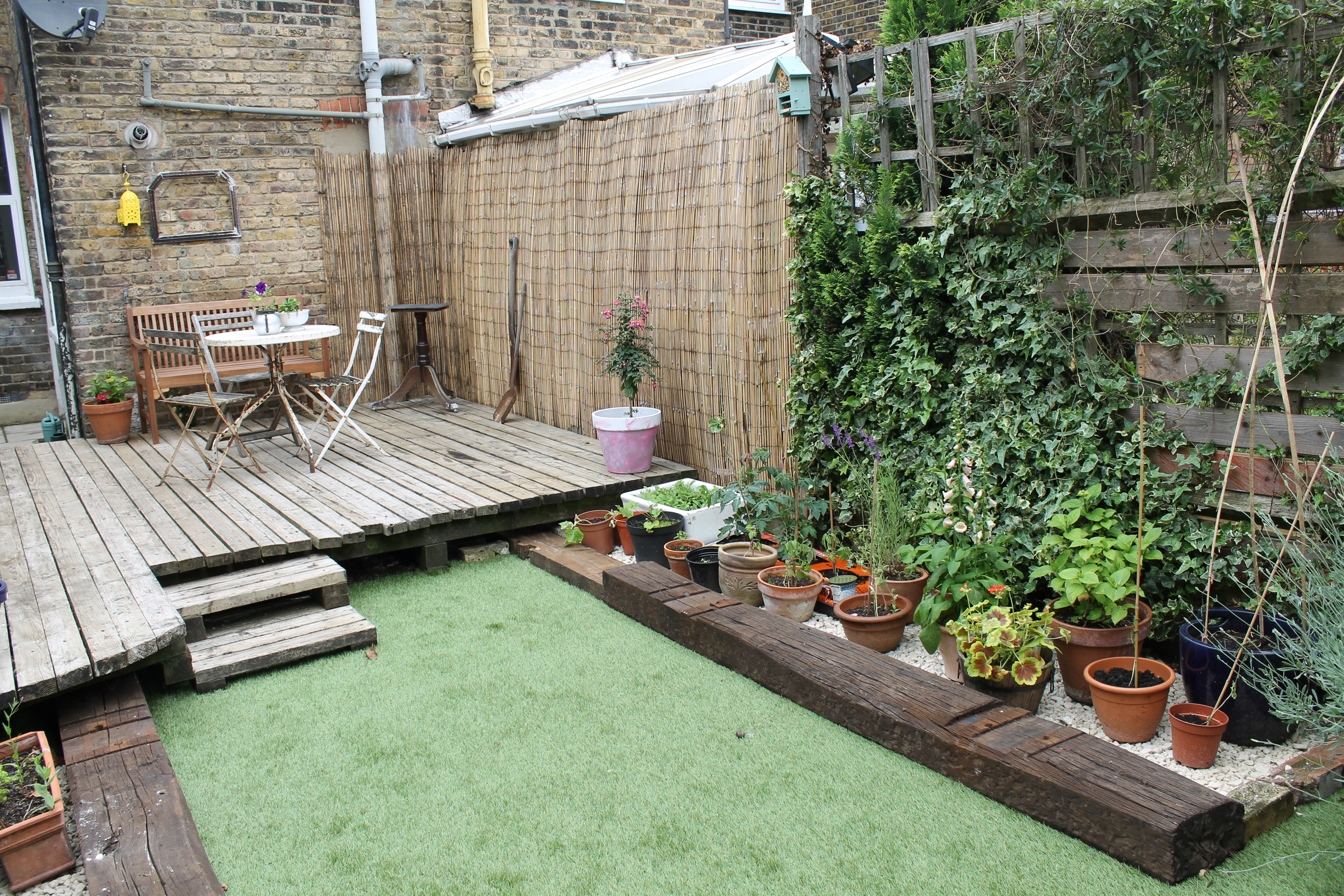 House garden pictures - After Shot Towards House Garden Makeover By Joanna Thornhill For Stylist S Own