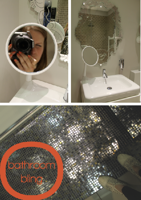 Bathroom Bling at CP Hart by Joanna Thornhill for Stylist's Own