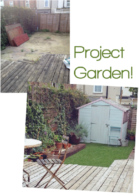Garden Makeover Before&After Joanna Thornhill for Stylist's Own