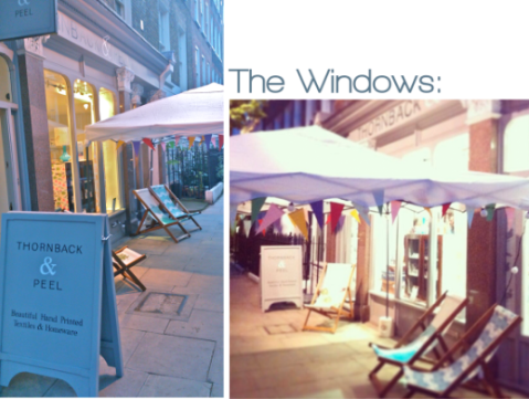 2. The Windows opener Launch Party Opening Shots Home for Now book by Joanna Thornhill, as seen on Stylist's Own blog