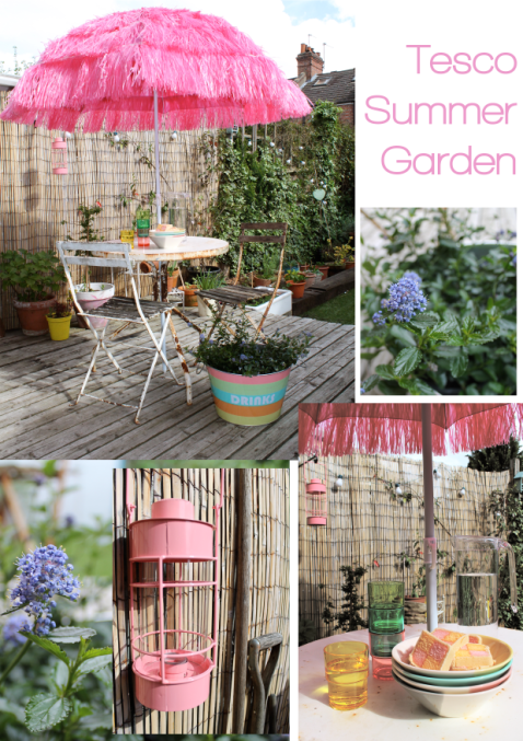 Tesco products garden items as blogged on Stylist's Own by Joanna Thornhill