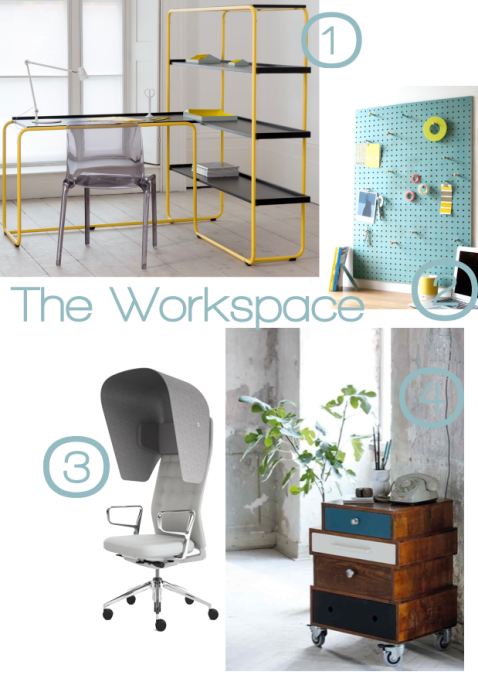 Dream Office Workspace by Joanna Thornhill for Stylist's Own blog