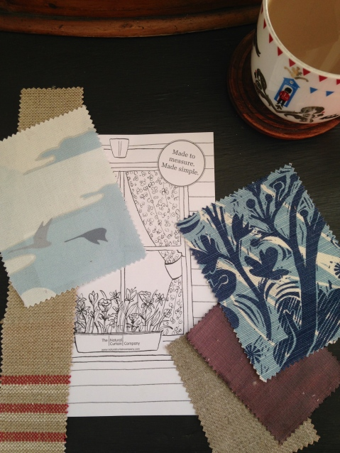 Fabrics by The Natural Curtain Company by Joanna Thornhill for Stylist's Own