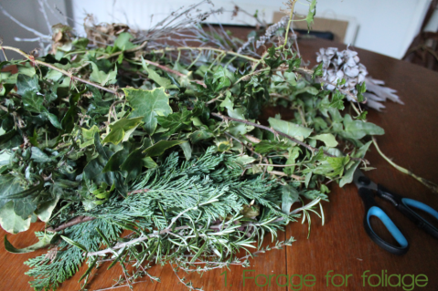 1. Forage for Foliage Wreathmaking DIY by Joanna Thornhill for Stylist's Own