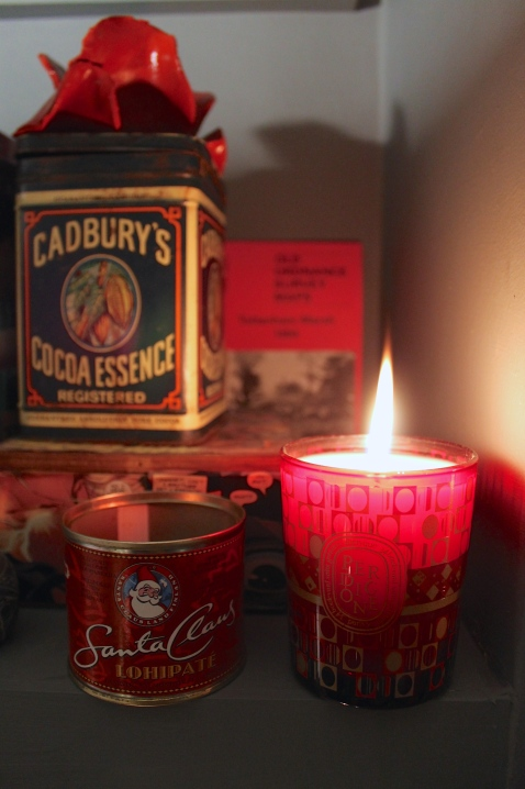 Candle corner for Christmas 2014 - Joanna Thornhill for Stylist's Own Blog