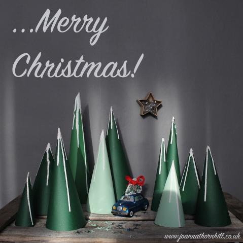 Joanna Thornhill Christmas Card 2014 with text