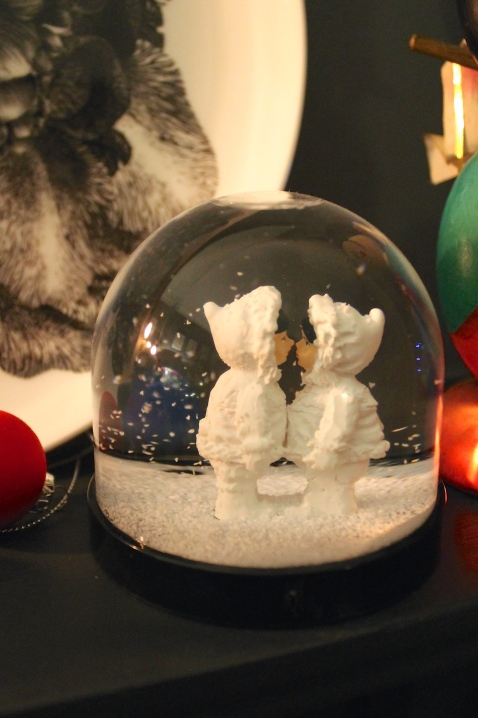 Lime Lace snowglobe for Christmas 2014 - Joanna Thornhill for Stylist's Own Blog