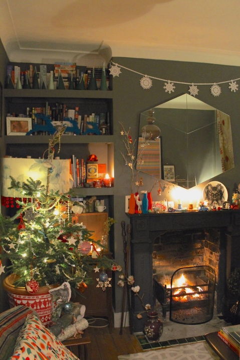 My living room for Christmas 2014 - Joanna Thornhill for Stylist's Own Blog