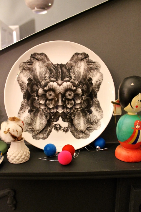 Sasha Tugolukova plate for Christmas 2014 - Joanna Thornhill for Stylist's Own Blog