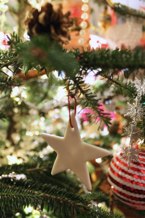 Star decoration by Toast for Christmas 2014 - Joanna Thornhill for Stylist's Own Blog