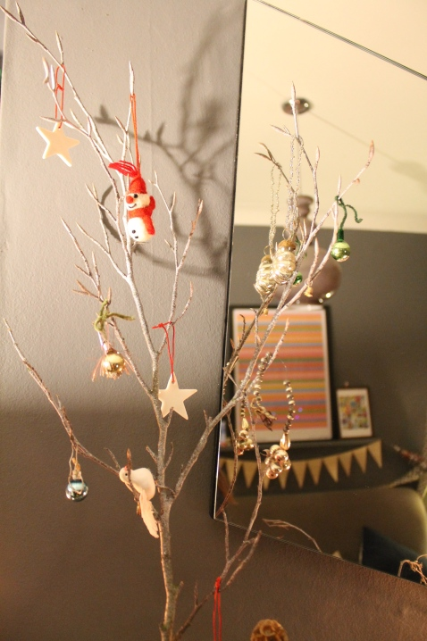 Twig decor for Christmas 2014 - Joanna Thornhill for Stylist's Own Blog